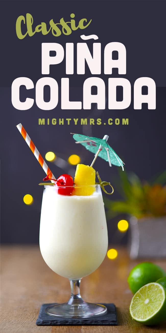 Easy Piña Colada Recipe
