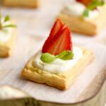 Easy Strawberry Ricotta Cheese Danish