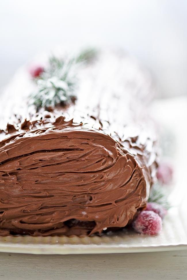 Easy Yule Log Recipe Using Cake Mix Mighty Mrs