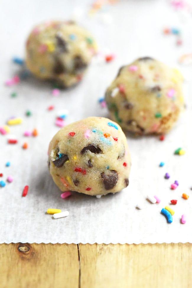 Edible Cookie Dough Balls