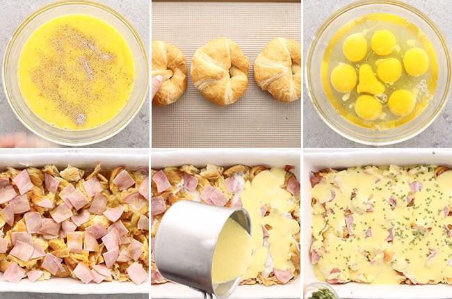 Eggs Benedict Casserole Ingredients