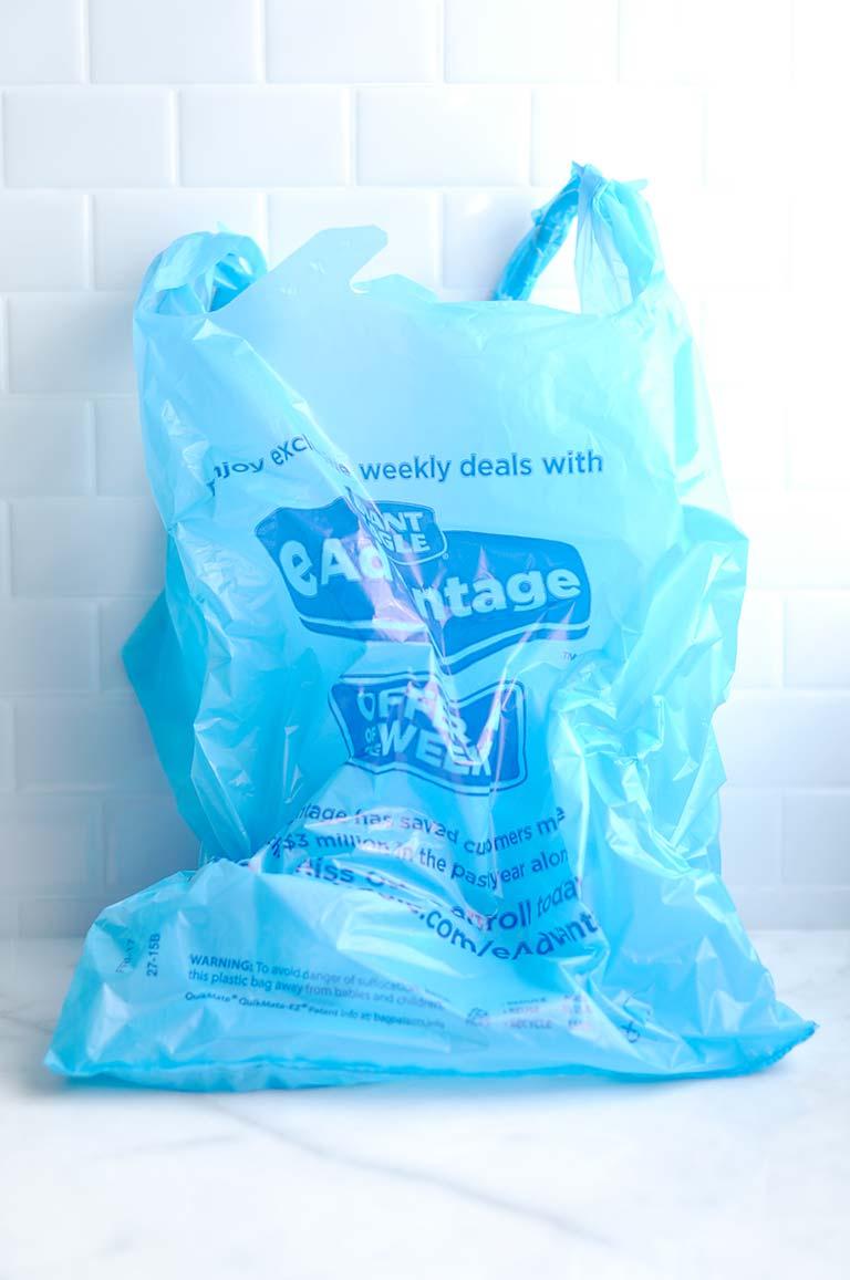 Family Road Trip Hacks - Trash Bags in Care