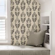 Farmhouse Wallpaper Tulip - Peel and Stick