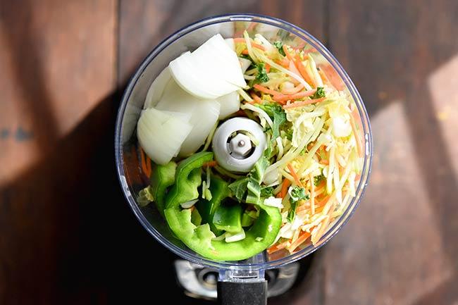 Food Processor Broccoli Slaw