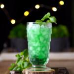 Grandpa's Green Stinger Drink