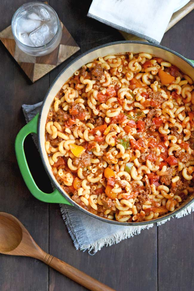 Old Fashioned Goulash - Large pot for a crowd