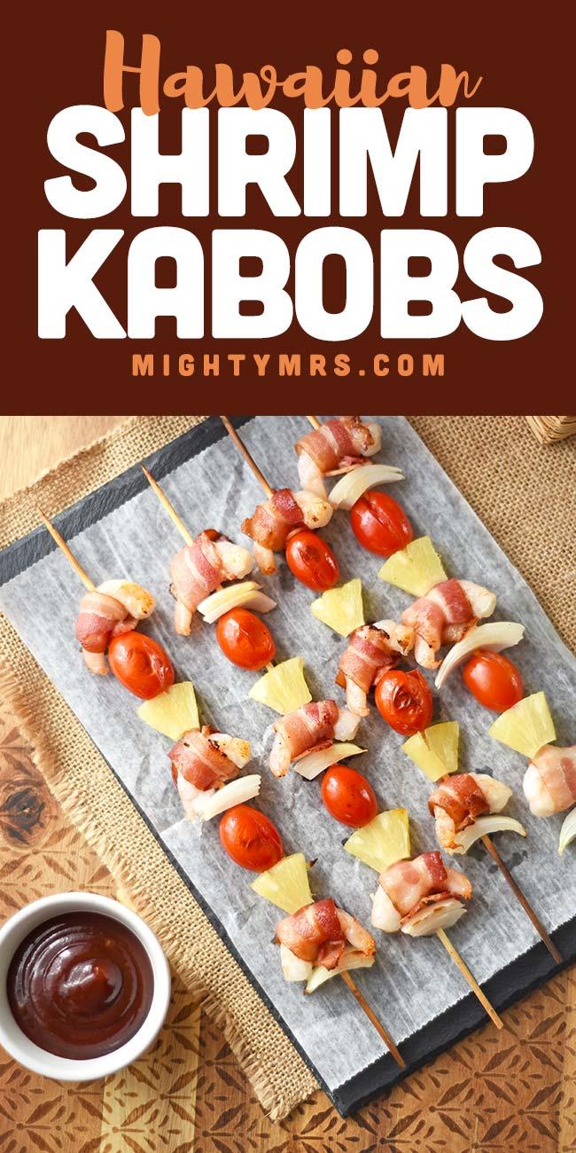 Hawaiian Shrimp Kabobs