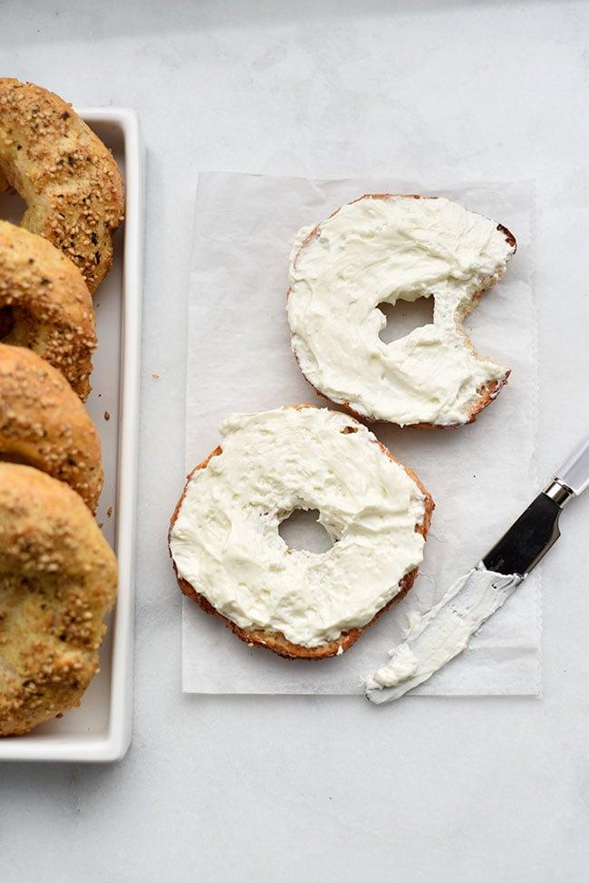 Homemade Bagels - Simple 5-ingredient recipe using Greek yogurt
