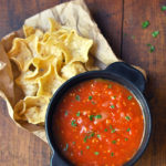 Homemade Salsa with Fresh Tomatoes