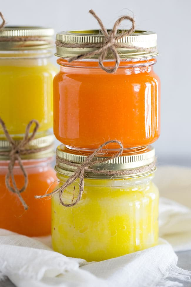 Homemade Sugar Scrubs - Lemon & Orange