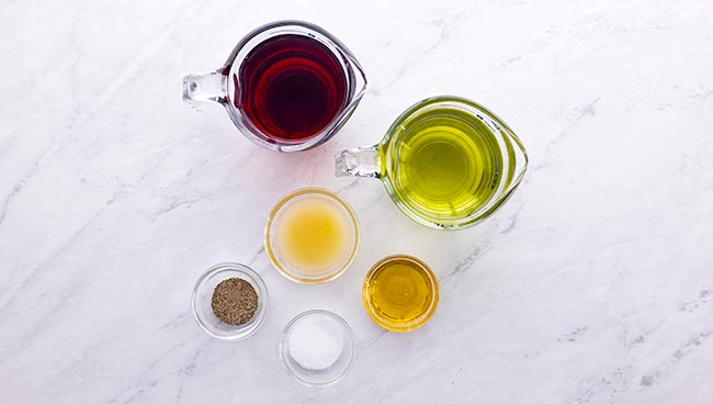 Honey Vinaigrette Dressing Ingredients