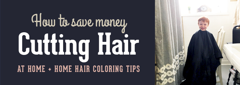How to Save Money Cutting Kids' Hair at Home