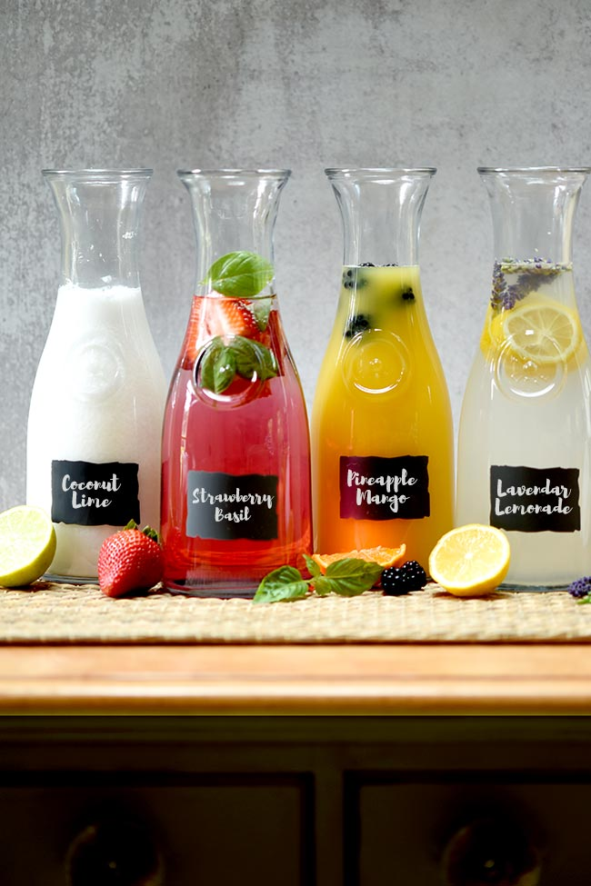 Agua Fresca Drink Station (4 Recipes)