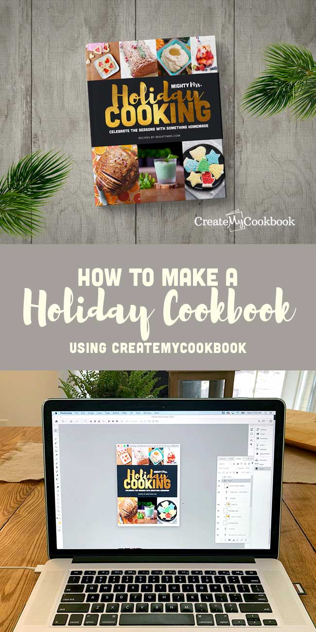 How to Make a Holiday Cookbook | Create My Cookbook | ad
