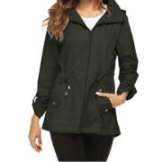 Hunter Green Rain Coat