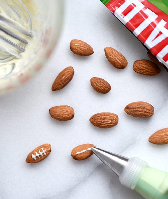 Iced Almond Footballs