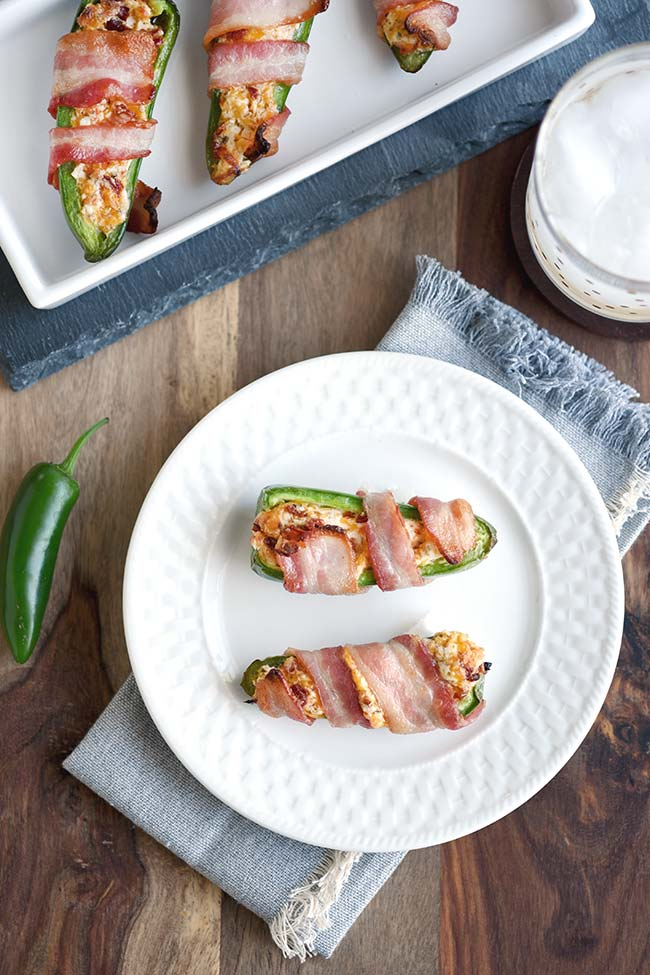 Jalapeno Poppers with Sun-dried Tomatoes