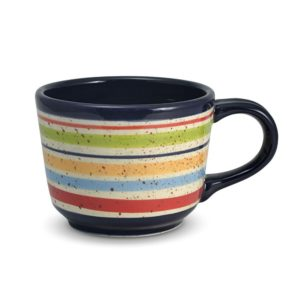 Big Striped Soup Mug