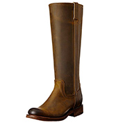 Justin Tan Leather boots