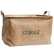 Jute Storage Bin