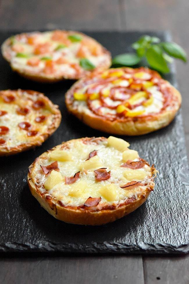 Kaiser Bun Pizzas
