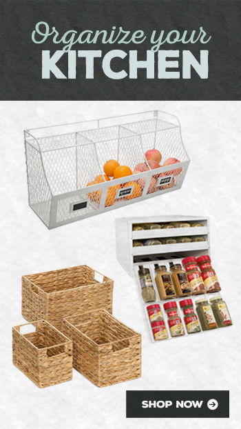 kitchen organization storage products