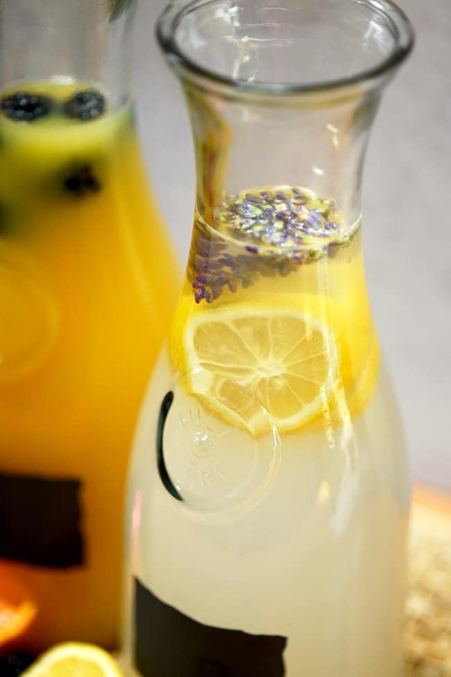 Lavendar Lemonade Agua Fresca