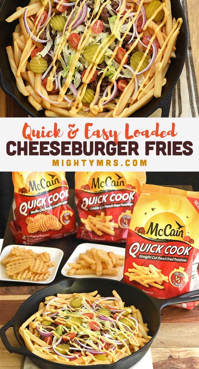 Loaded Cheeseburger Fries | Ad