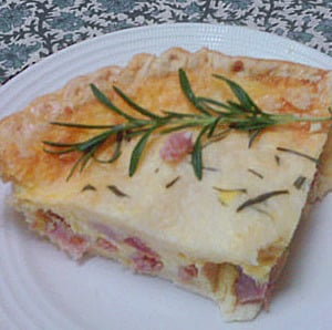 Low-fat Ham & Cheese Quiche