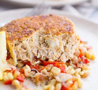 Maryland Crab Cakes (no bread crumbs)