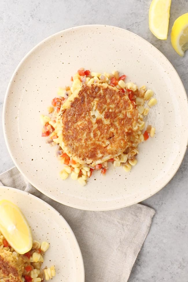 Maryland Crab Cakes (with saltines, no bread crumbs)