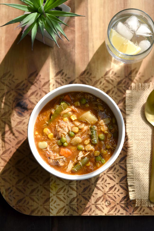 Maryland Vegetable Potato Crab Soup