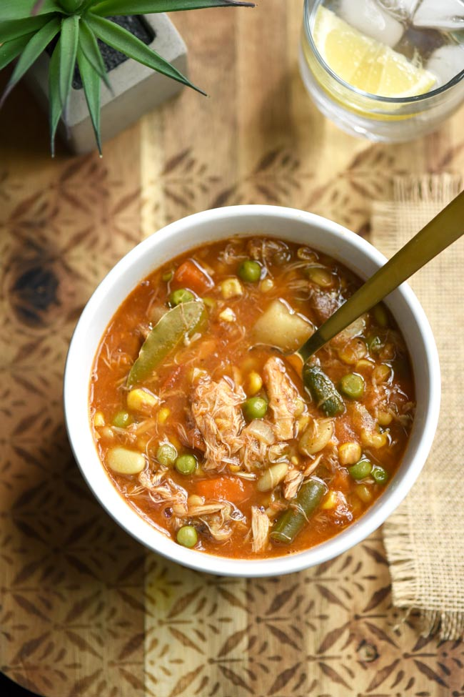 Maryland Crab Soup with Vegetables