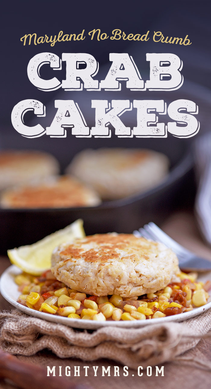 Real Maryland Crab Cakes - No Breadcrumbs