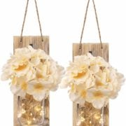 Fairy Lighted Mason Jars - Battery Operated