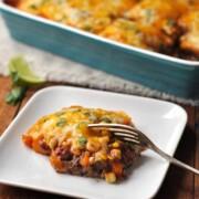 Healthy Mexican Quinoa Enchilada Casserole
