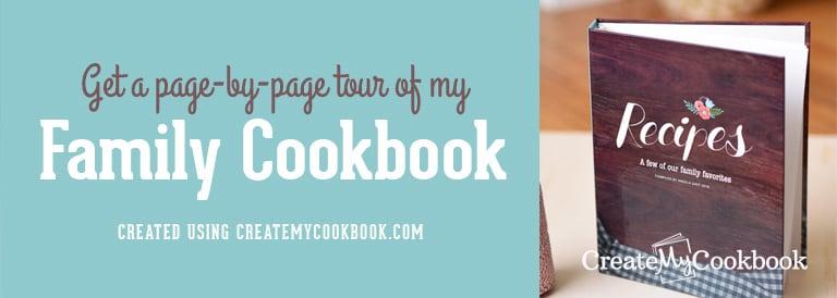 Cookbook custom design