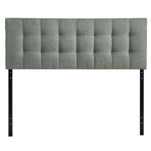 Tufted Upholstered Headboard Grey