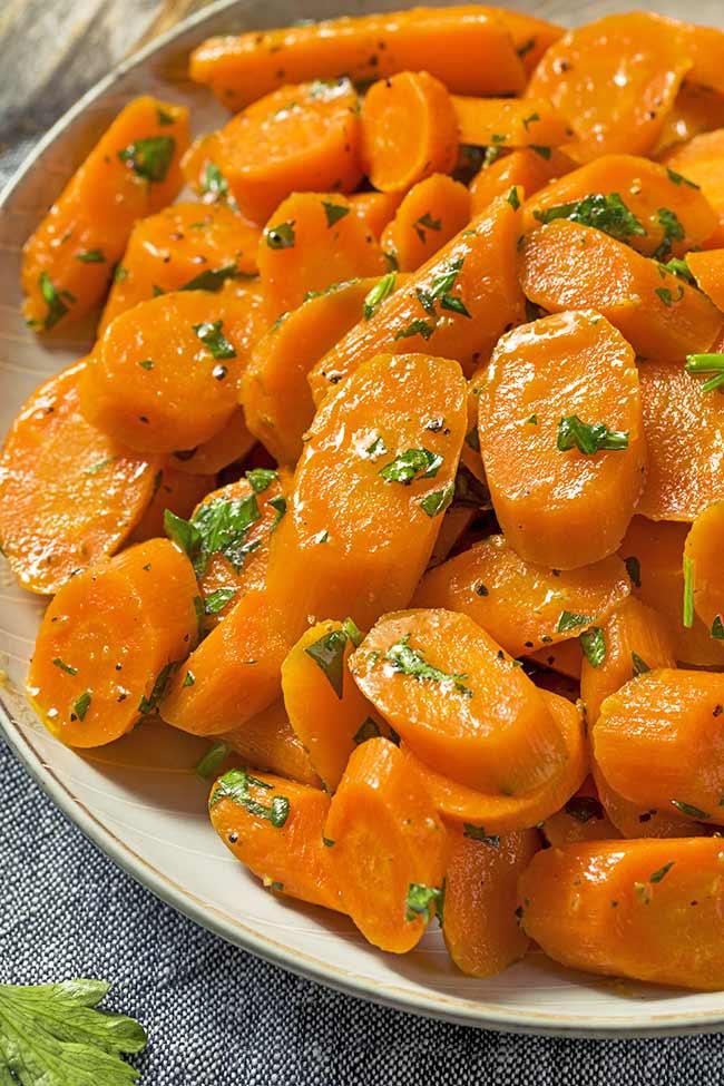 Orange Marmalade Glazed Carrots