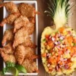 Coconut Shrimp with Pineapple Salsa
