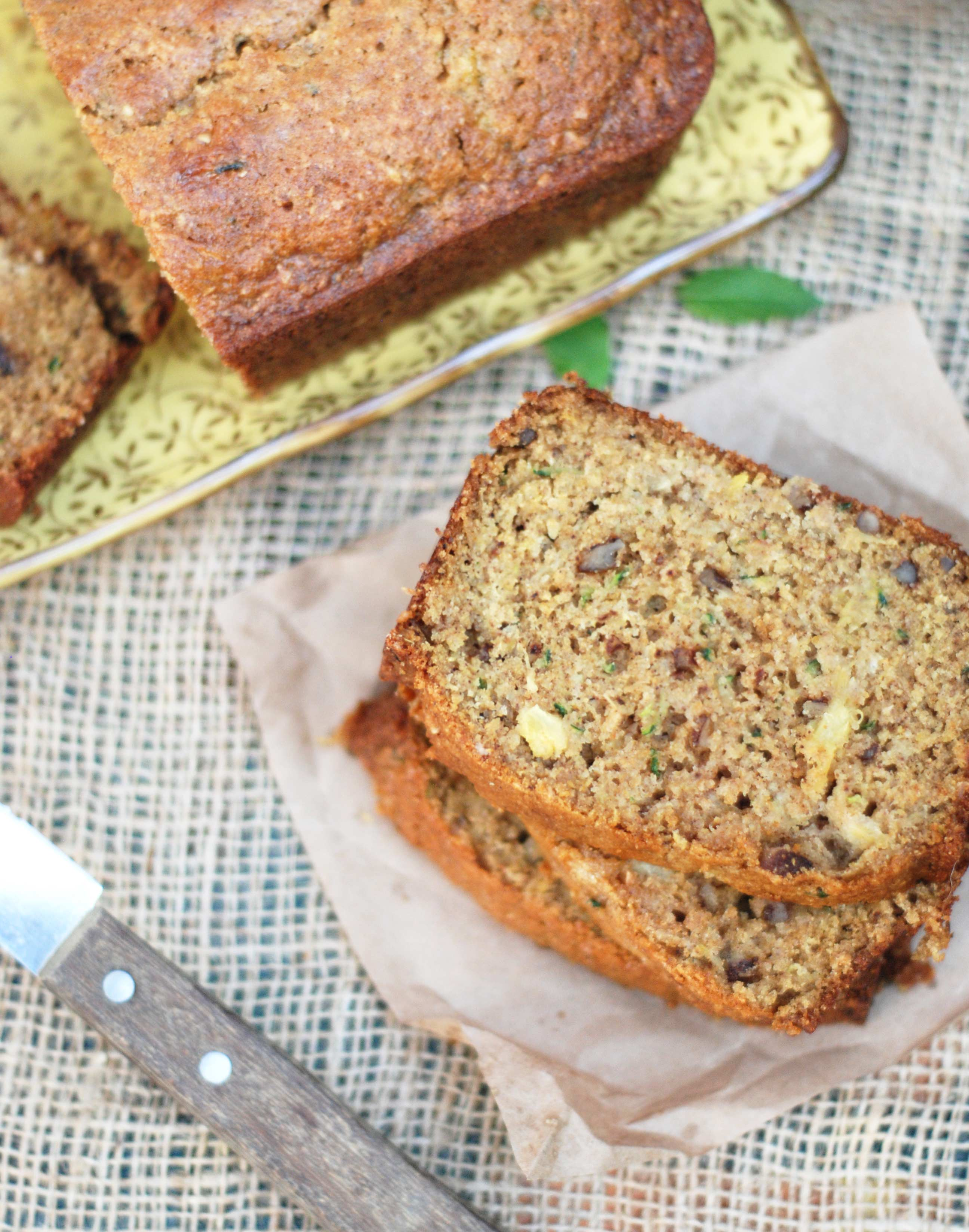 Pineapple Zucchini Bread | The Mighty Mrs.