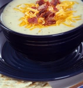 Bacon Potato Leek Soup