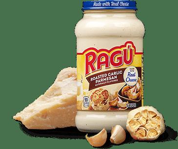Ragu Roasted Garlic Parmesan Alfredo Sauce