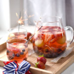 Red White and Blue Moscato Sangria