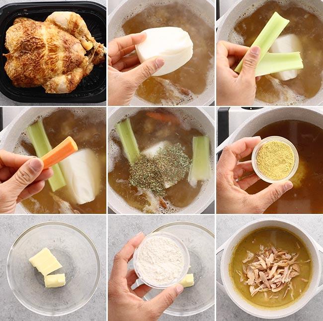 Rotisserie Chicken Gravy Ingredients