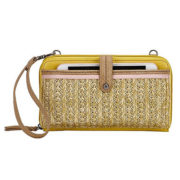 The Sak Iris Crossbody Straw Pruse