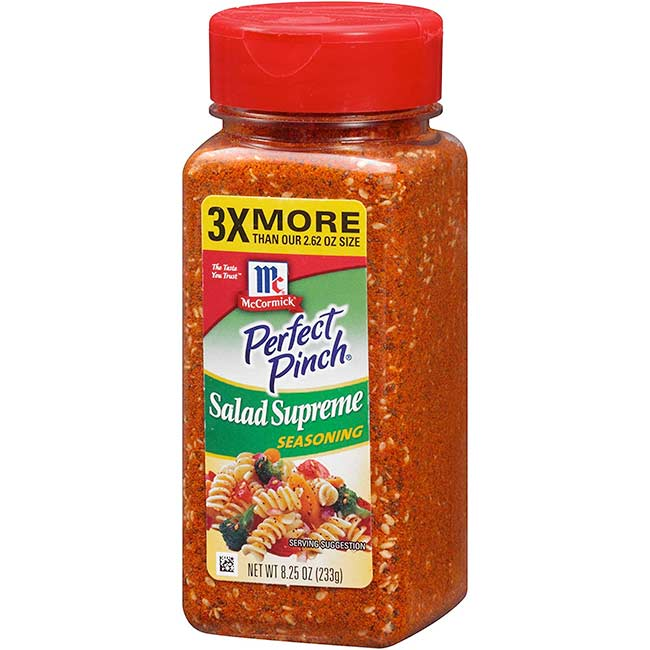 McCormick Perfect Pinch Salad Supreme Seasoning