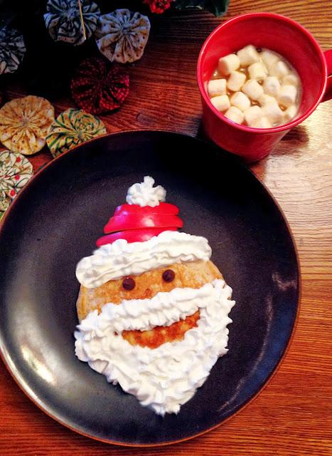 Christmas Santa Pancakes Mighty Mrs