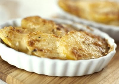 Scalloped Potatoes with Leeks | Mighty Mrs.