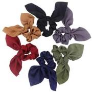 Silk Bow Scrunchies